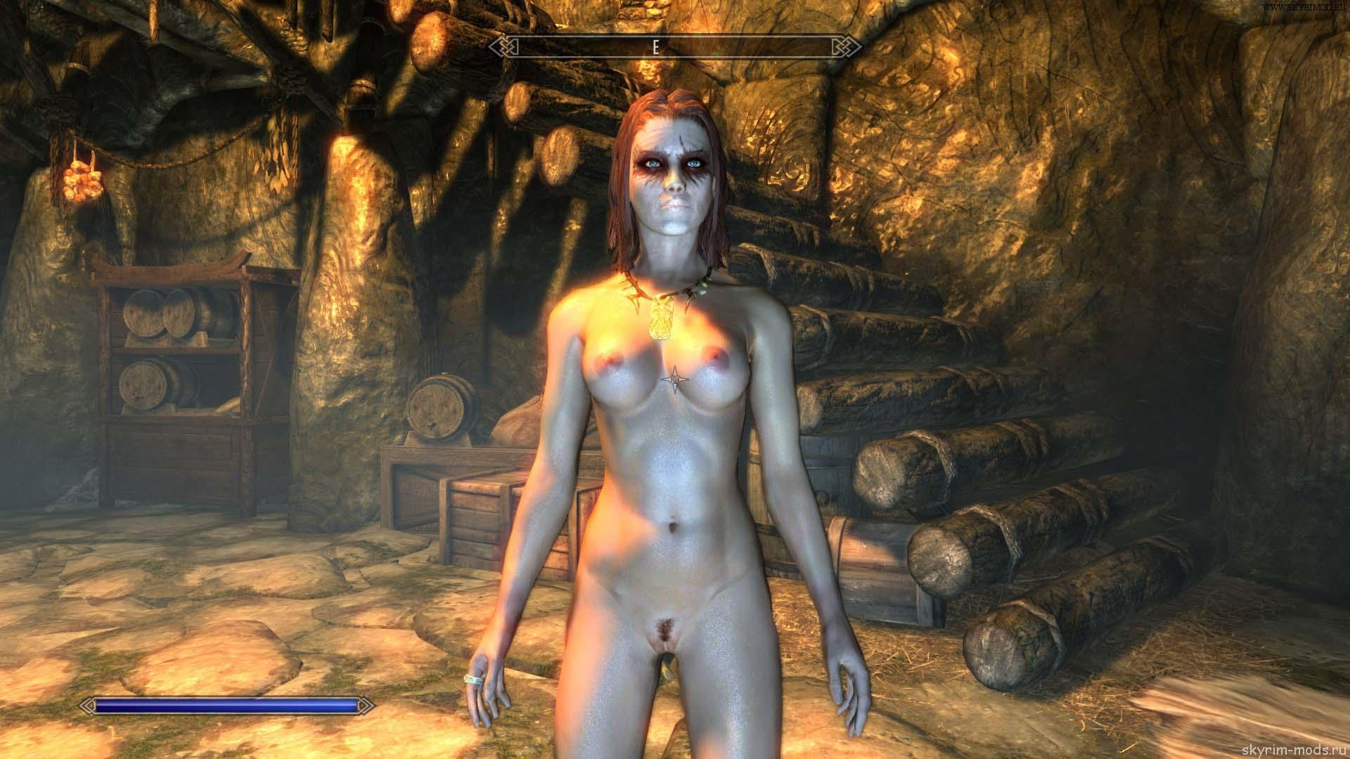 Tes v skyrim nude adult clips