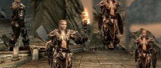 Доспехи Священницы на TES 5: Skyrim