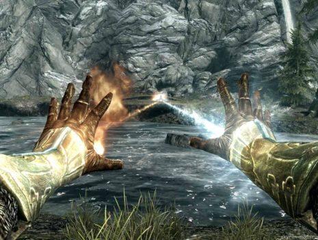 Midas Magic — заклинания на TES 5: Skyrim