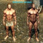 Тела мужчин Skyrim