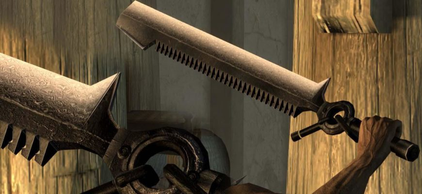 Набор Дамасского оружия