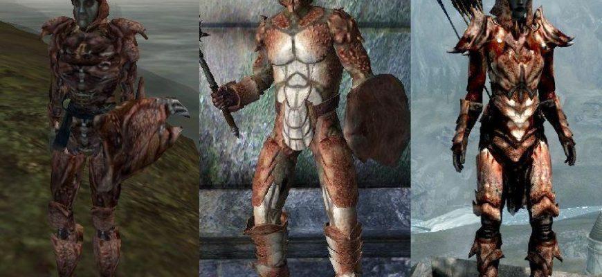 Броня и оружие из TES III: Morrowind