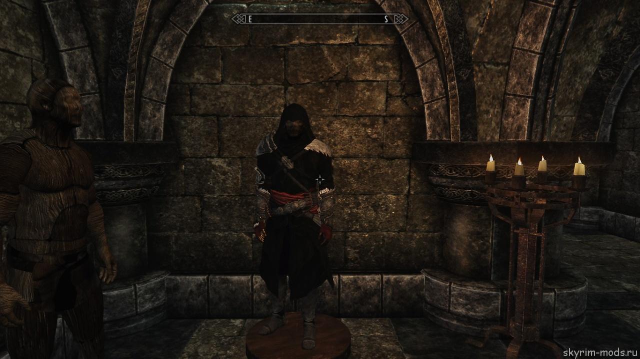 Ретекстур брони Тёмного Братства