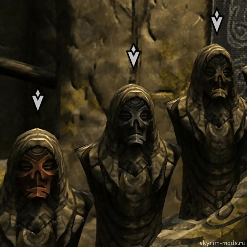 Маркеры для Драконьих Жрецов