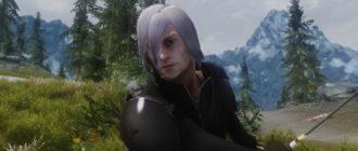 Одежда и прическа из Final Fantasy
