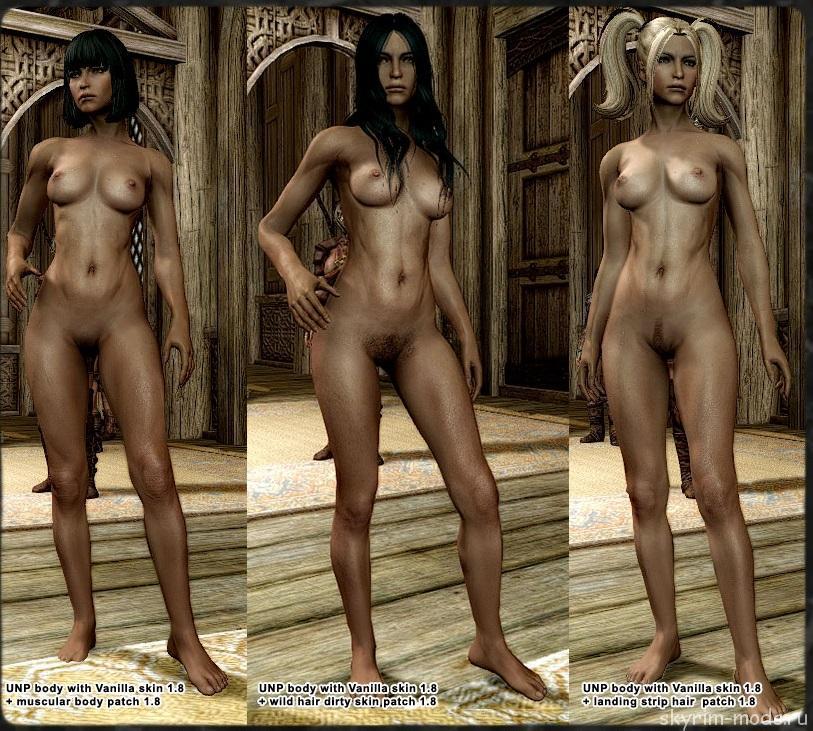Реалистичные текстуры женских тел