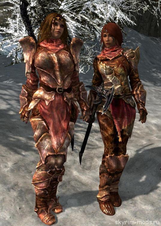 Адаптация брони для UNP из Dragonborn