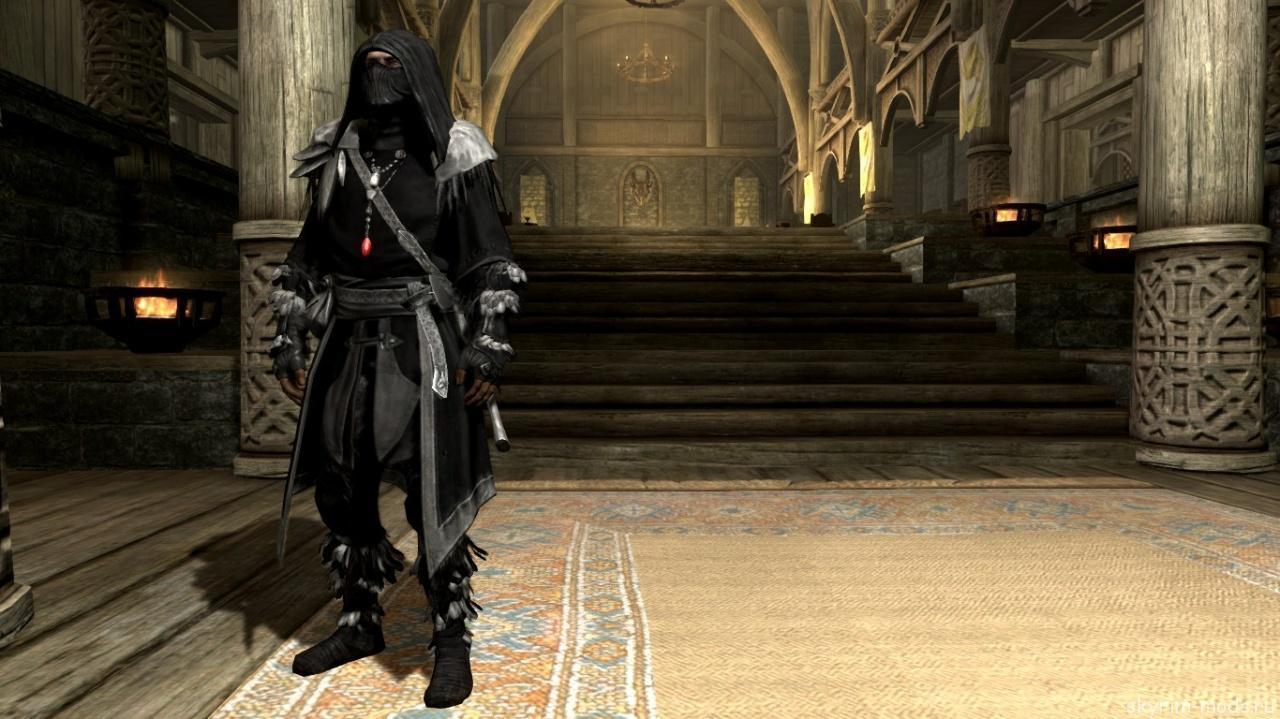 Броня темного лучника