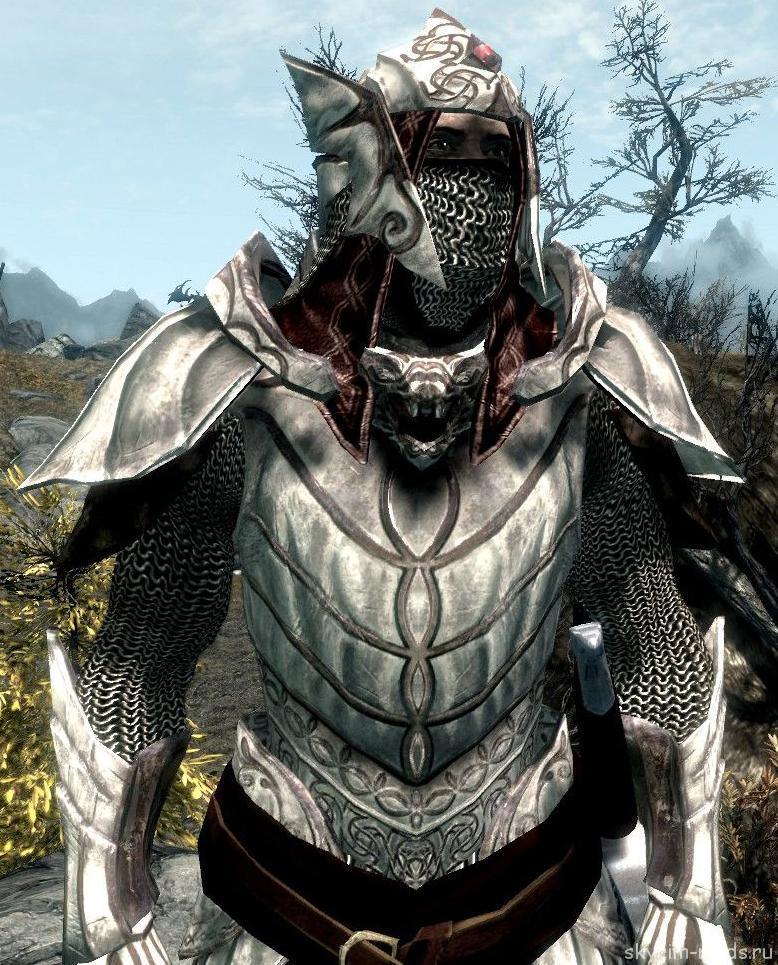 Эльфийская драконья броня