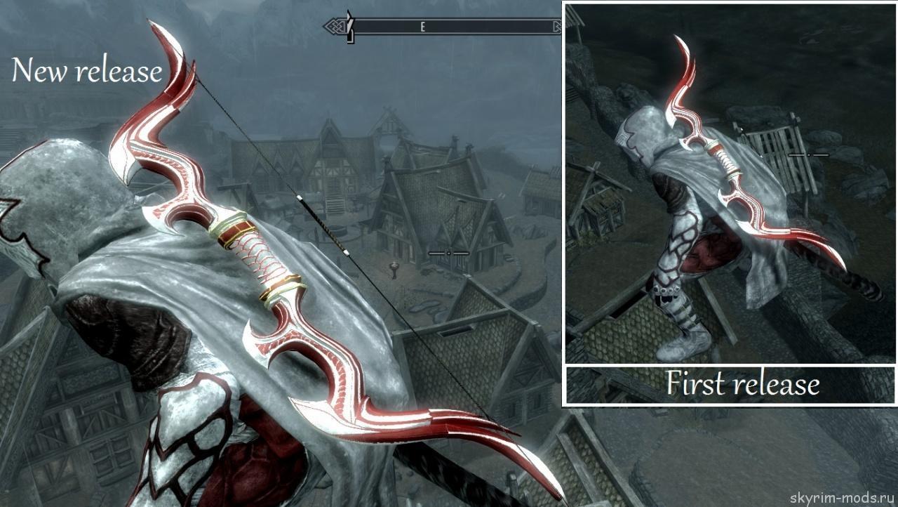 Ретекстур стеклянного лука под стиль Assassin's Creed