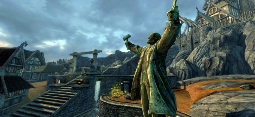Замена статуи Талоса