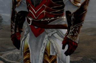Ретекстур Эбонитовой брони под стиль Assassin's Creed
