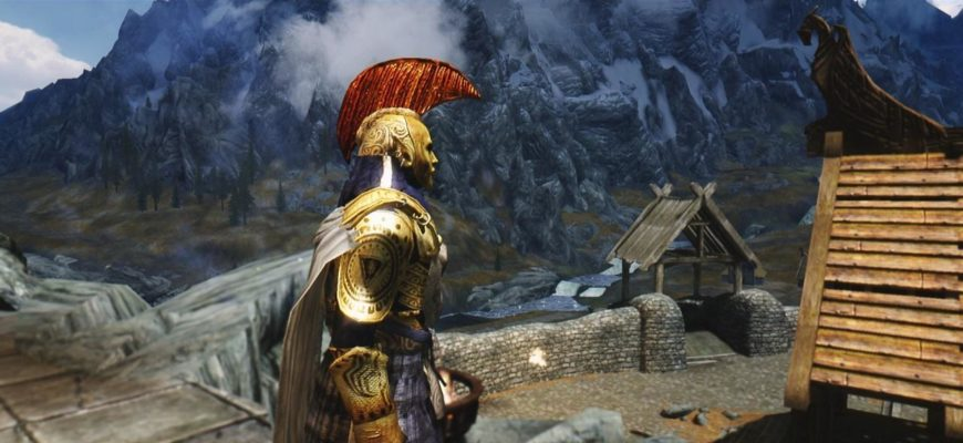 Броня Ординатора из Morrowind