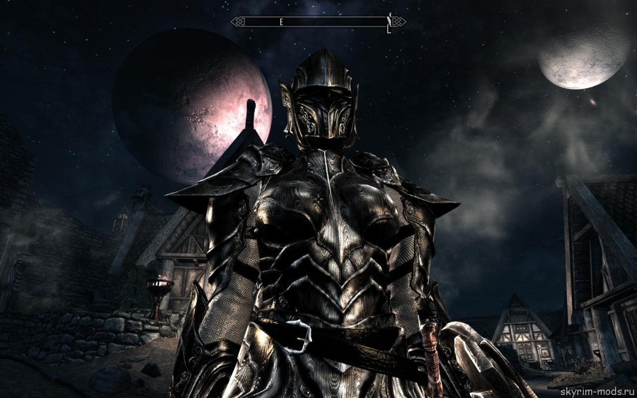 Дамасская броня и оружие