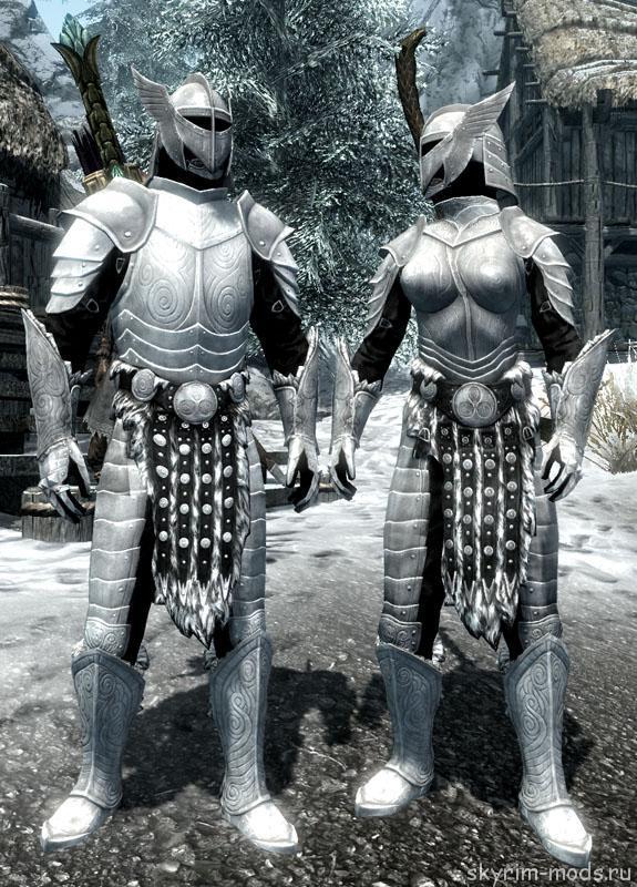 Ретекстур стальной брони