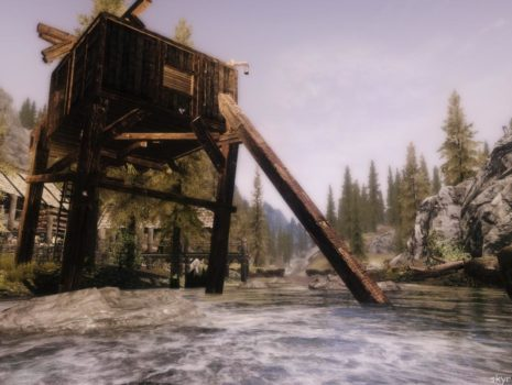 Ривервуд — домик над водой.