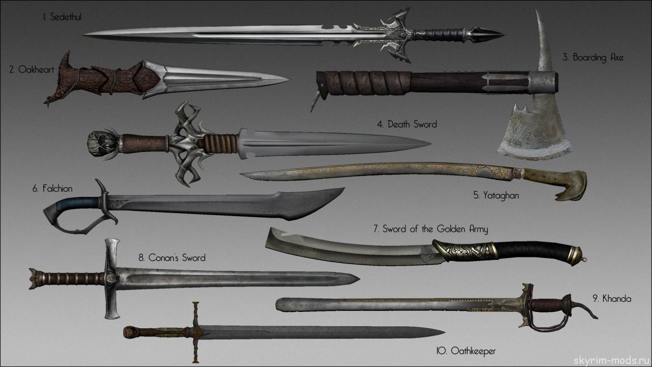 Сборник нового оружия