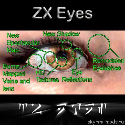 HD глаза для всех рас