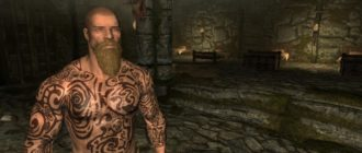 Татуировки в меню создания персонажа
