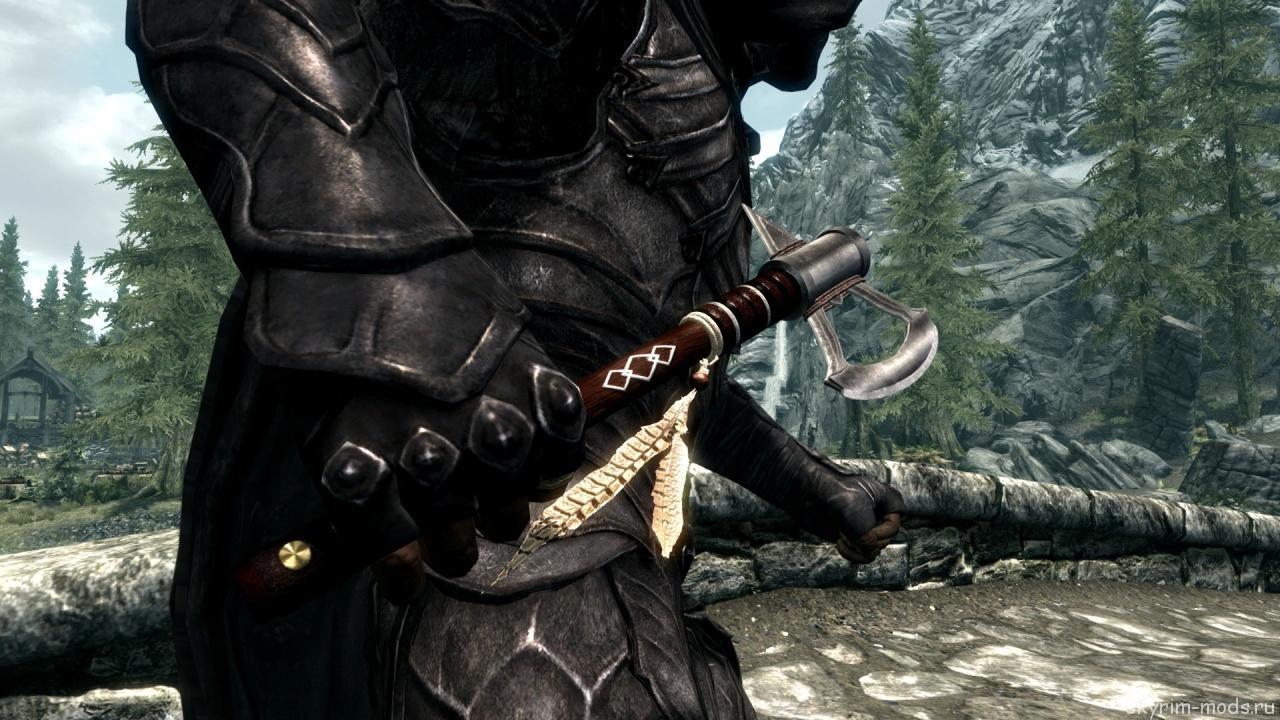 Томагавк из Assassins Creed 3