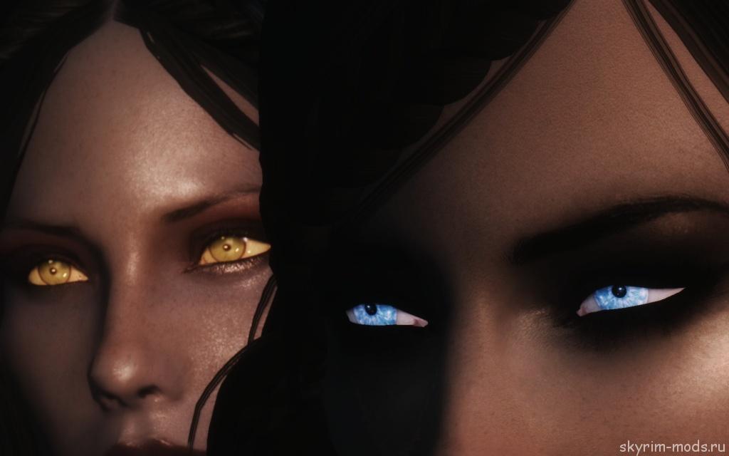 Глаза из фильма «Другой мир»