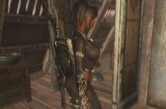 Новая женская броня Тёмного братства