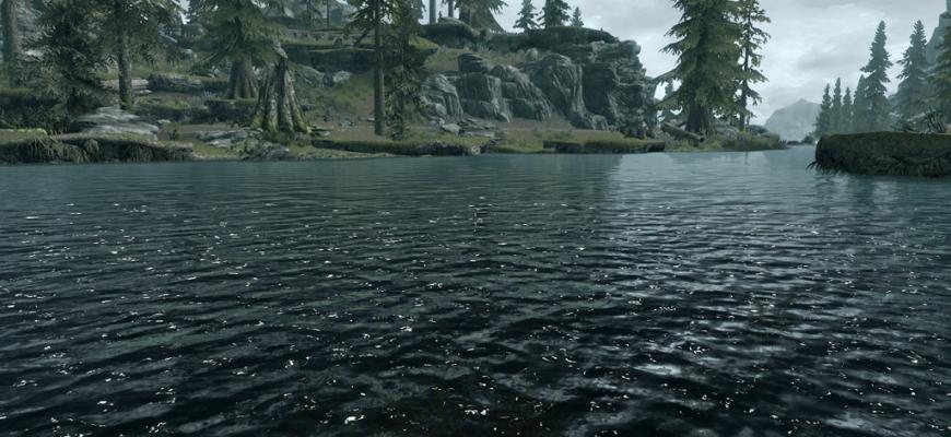 HD текстуры для воды