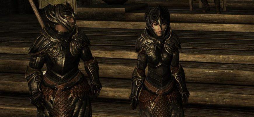 Темная эльфийская броня