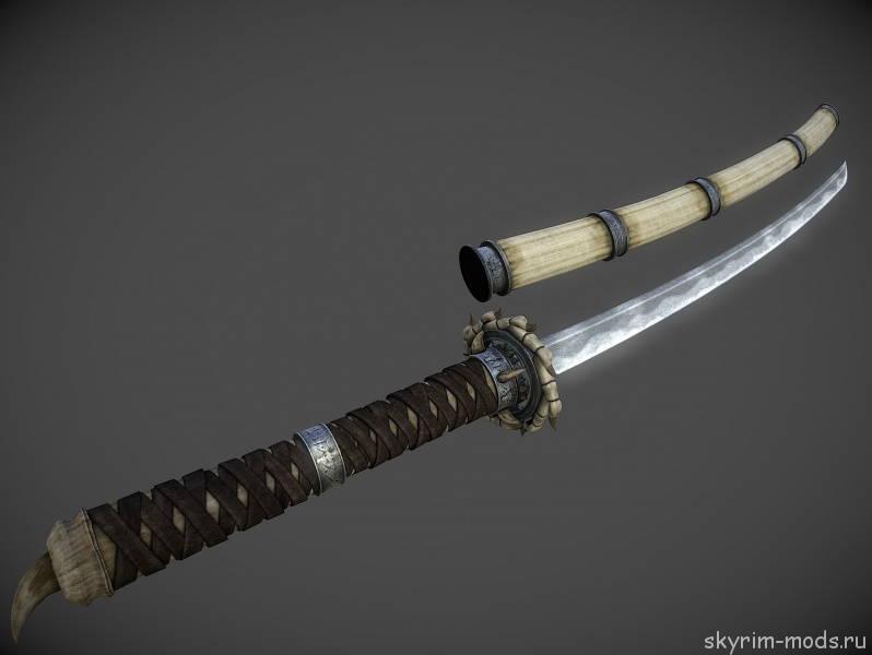 Модель и текстуры для оружия «Бич драконов»