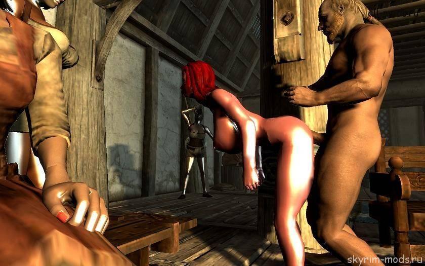 проституткой скайриме секс в