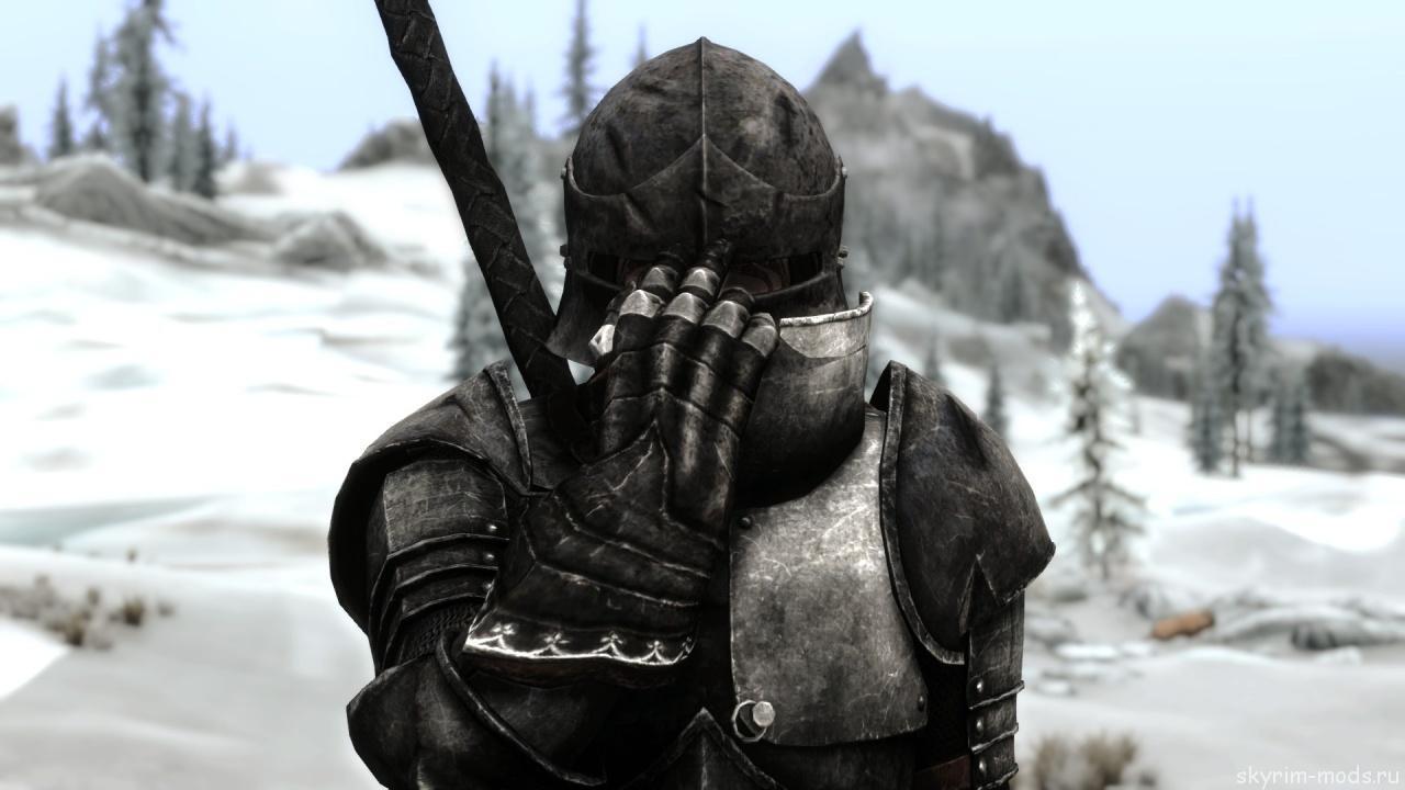 Броня темного рыцаря