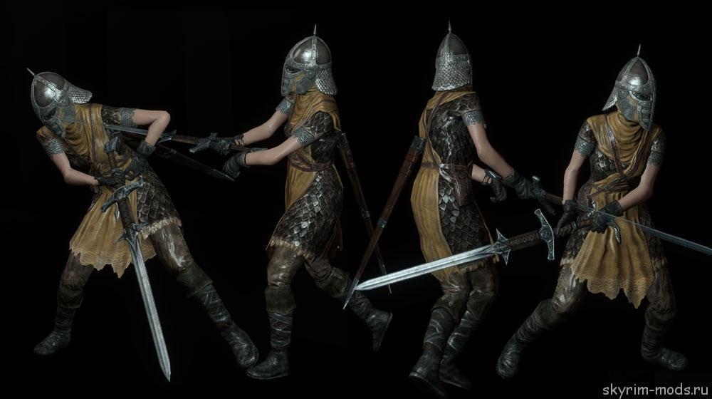 Новая анимация для двуручных мечей