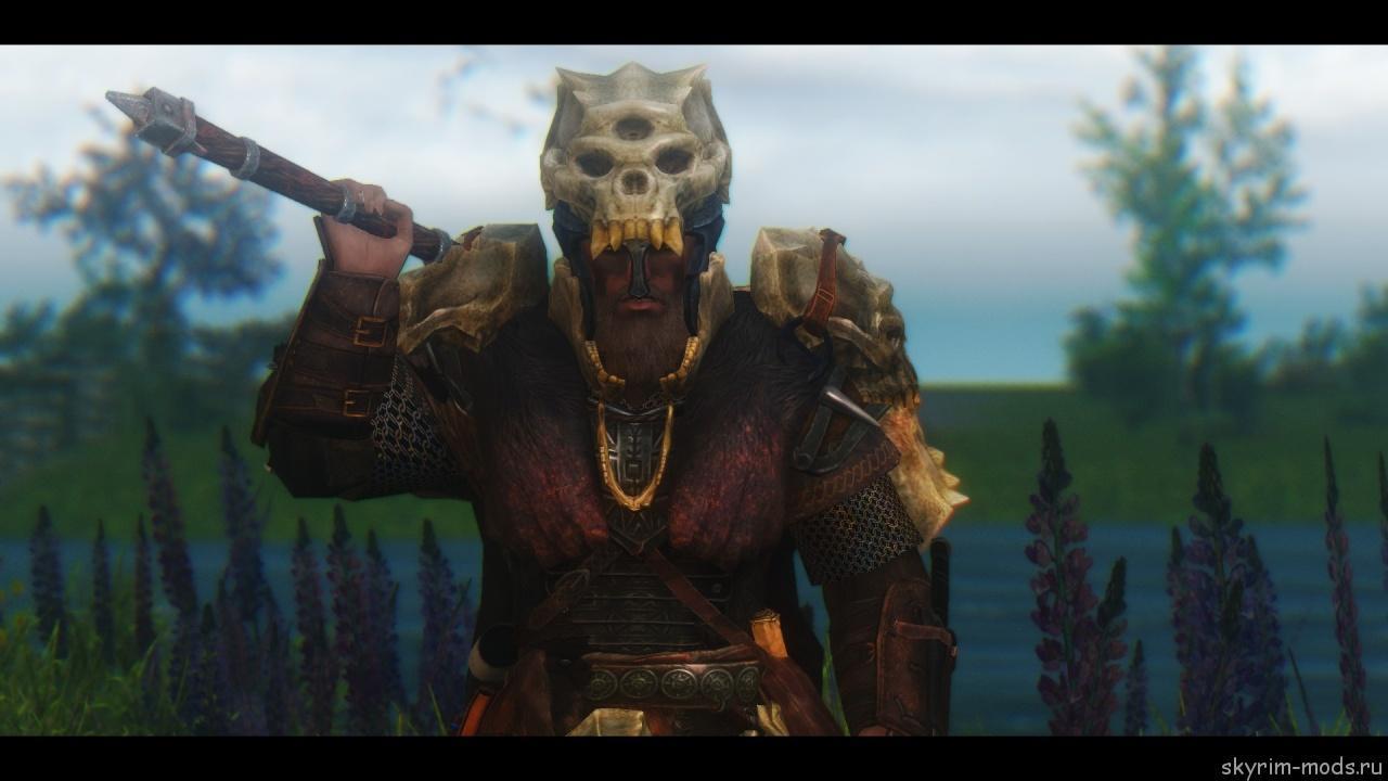 Броня и оружие Тролля