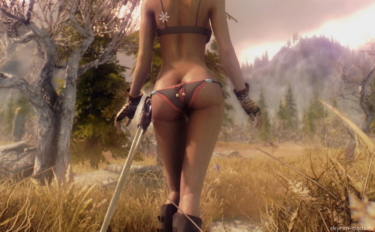 Экран загрузки с девушками из игры