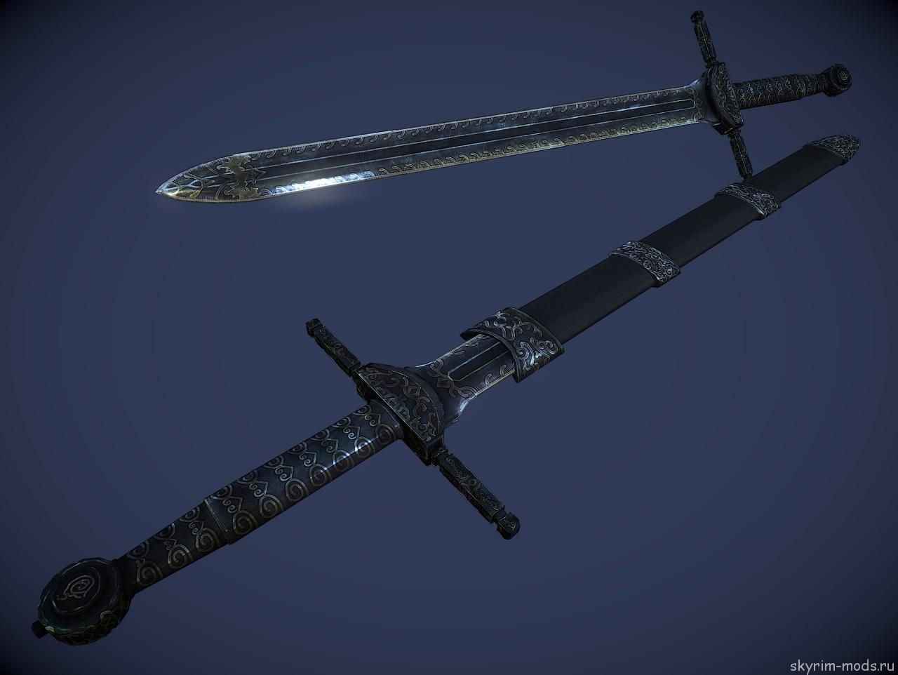 Реплейсер эбонитового меча