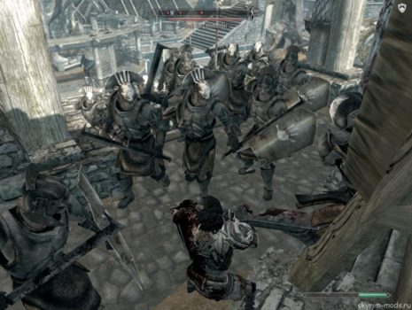 Атака Урук-Хаев на Вайтран