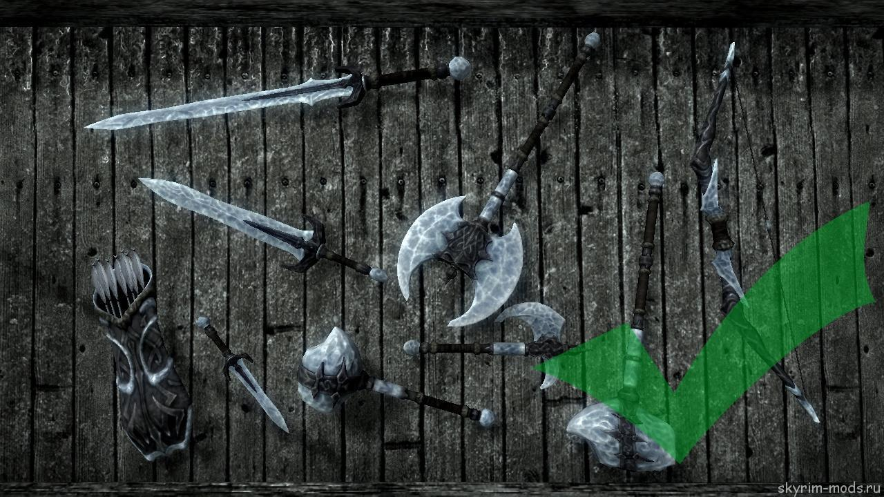 Улучшенные текстуры оружия из Сталгрима