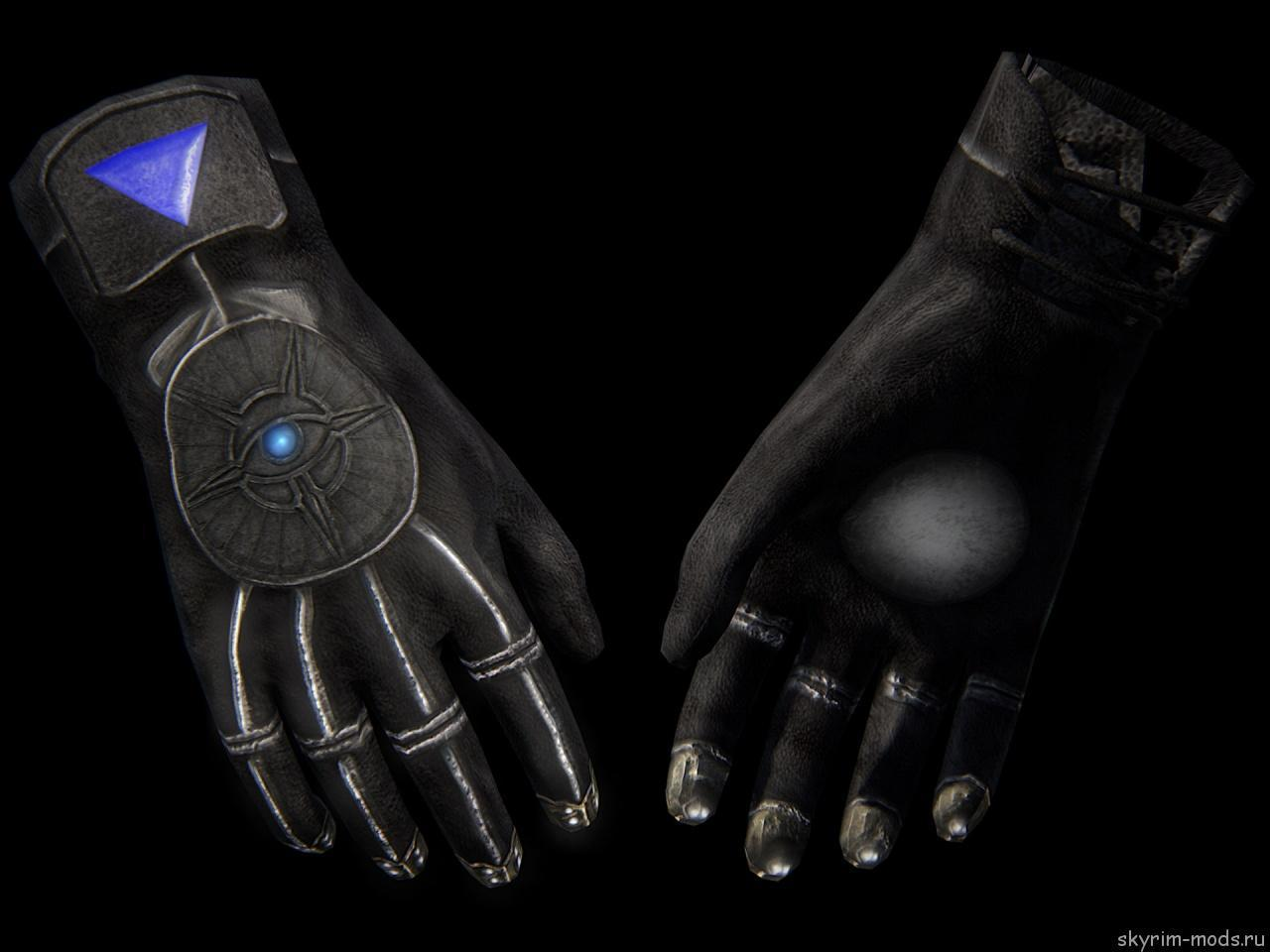 Новые текстуры для «Мистических настроечных перчаток»