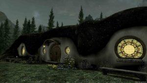 Дом Хоббита Скайрим